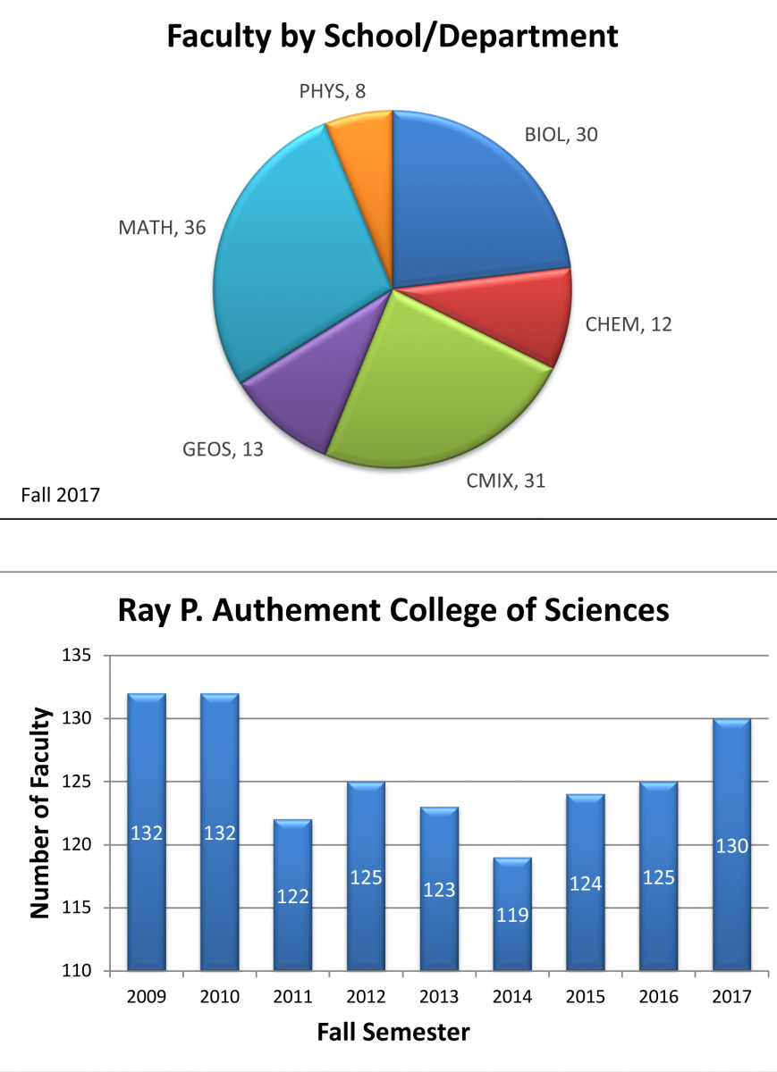 Figure 2. Full-Time Continuing College Faculty
